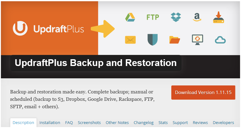 Zalohovani-WordPress-UpdraftPlus-Backup-and-Restoration